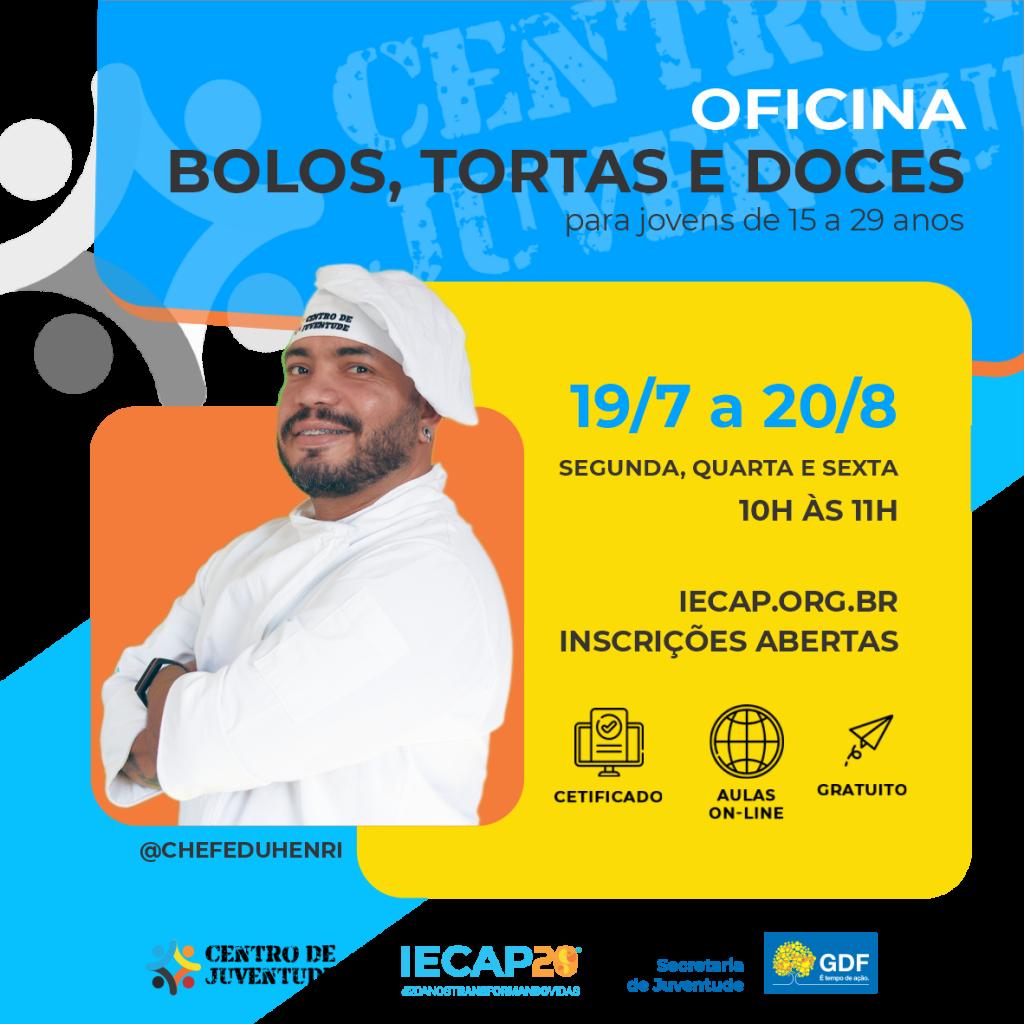 OFICINA BOLOS, TORTAS E DOCES
